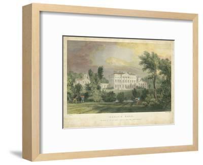 Howick Hall-T^ Allom-Framed Art Print