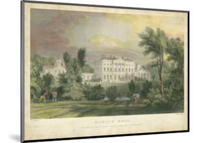 Howick Hall-T^ Allom-Mounted Art Print