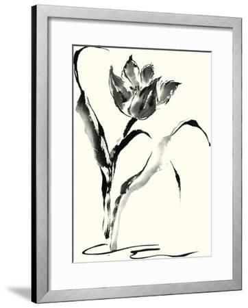 Studies in Ink - Tulip-Nan Rae-Framed Art Print