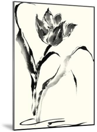Studies in Ink - Tulip-Nan Rae-Mounted Art Print