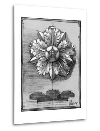 Custom Classical Sketch II-Ethan Harper-Metal Print