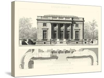 Palais Du Petit Trianon-E^ Obermayer-Stretched Canvas Print