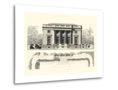 Palais Du Petit Trianon-E^ Obermayer-Metal Print