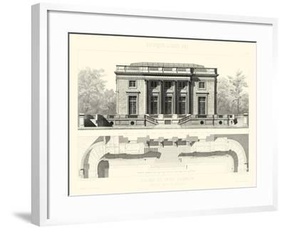 Palais Du Petit Trianon-E^ Obermayer-Framed Art Print