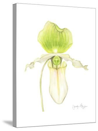 Small Orchid Beauty IV-Jennifer Goldberger-Stretched Canvas Print