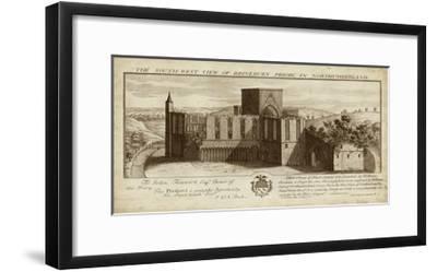 View of Brinkburn Priory-Nathanial Buck-Framed Art Print