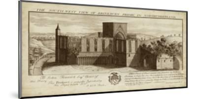 View of Brinkburn Priory-Nathanial Buck-Mounted Art Print