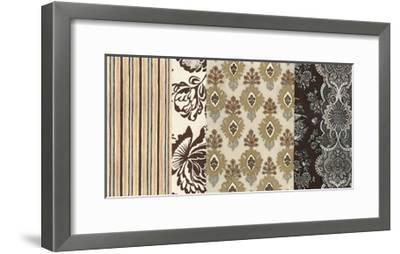 Neutral Nouveau Panel II--Framed Art Print