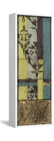 Jeweled Transom VI-Jennifer Goldberger-Framed Stretched Canvas Print