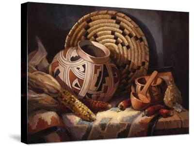 Casa Grande Pot-Maxine Johnston-Stretched Canvas Print
