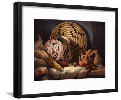 Casa Grande Pot-Maxine Johnston-Framed Art Print