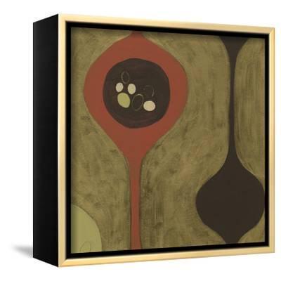 Nest III-Erica J^ Vess-Framed Stretched Canvas Print
