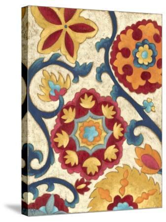 Suzani Splendor I-Chariklia Zarris-Stretched Canvas Print