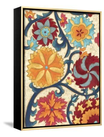 Suzani Splendor II-Chariklia Zarris-Framed Stretched Canvas Print