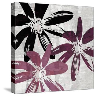 Bloomer Squares VII-James Burghardt-Stretched Canvas Print