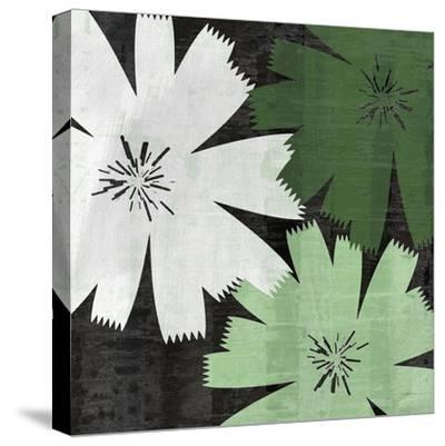 Bloomer Squares XVIII-James Burghardt-Stretched Canvas Print