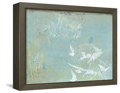 Flight I-Jennifer Goldberger-Framed Stretched Canvas Print