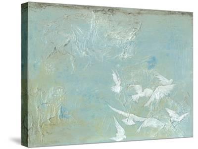 Flight I-Jennifer Goldberger-Stretched Canvas Print