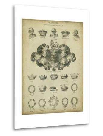 Heraldic Crowns and Coronets I-Milton-Metal Print
