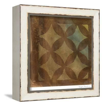 Mediterranean Impressions III-Megan Meagher-Framed Stretched Canvas Print