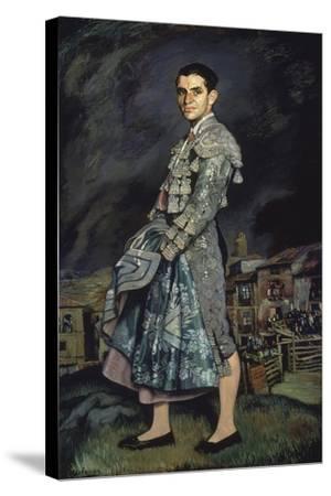 Portrait of Juan Belmonte, 1924-Ignacio Zuloaga-Stretched Canvas Print