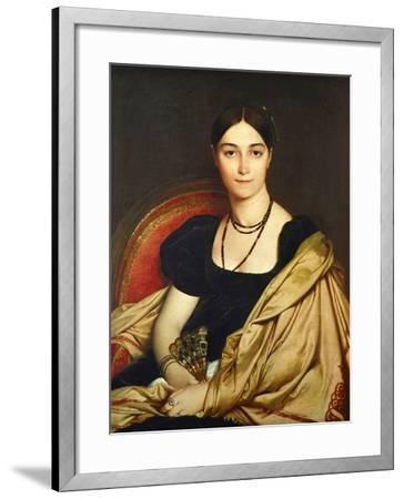 Madame Antonia Devaucay De Nittis, 1809-Jean-Auguste-Dominique Ingres-Framed Giclee Print