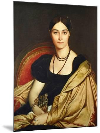 Madame Antonia Devaucay De Nittis, 1809-Jean-Auguste-Dominique Ingres-Mounted Giclee Print