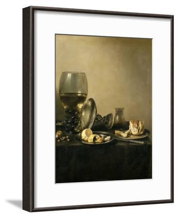 Still Life, 1637-Pieter Claesz-Framed Giclee Print