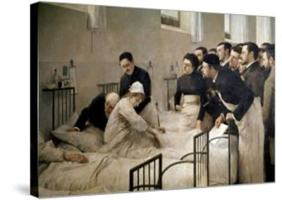 The Visit of the Doctor, 1897-Luis Jimenez Aranda-Stretched Canvas Print