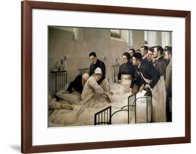The Visit of the Doctor, 1897-Luis Jimenez Aranda-Framed Giclee Print