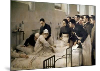The Visit of the Doctor, 1897-Luis Jimenez Aranda-Mounted Giclee Print