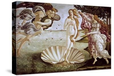 The Birth of Venus, Ca. 1485-Sandro Botticelli-Stretched Canvas Print