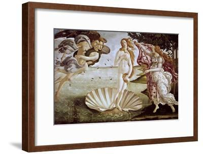 The Birth of Venus, Ca. 1485-Sandro Botticelli-Framed Giclee Print