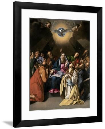 Pentecost, 1615-1620-Juan Bautista Mayno-Framed Giclee Print