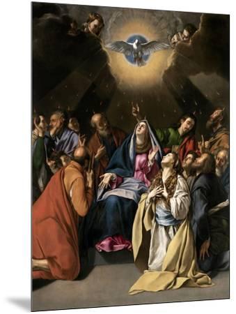 Pentecost, 1615-1620-Juan Bautista Mayno-Mounted Giclee Print