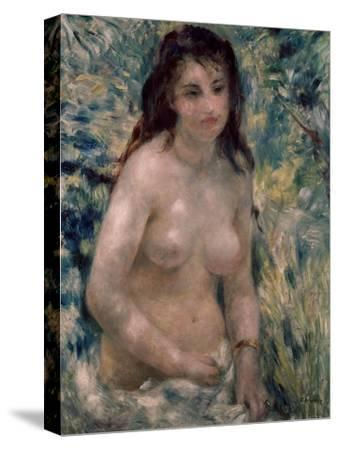 Study. Torso, Effect of Sunlight, Ca. 1875-1876-Pierre-Auguste Renoir-Stretched Canvas Print