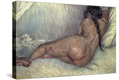 Dutch School. Naked Woman, 1887-Vincent van Gogh-Stretched Canvas Print