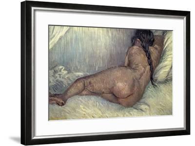 Dutch School. Naked Woman, 1887-Vincent van Gogh-Framed Giclee Print