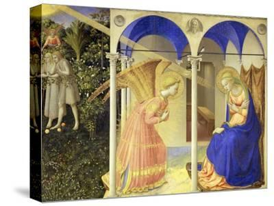 The Annunciation, 1426-1428-Fra Angelico-Stretched Canvas Print