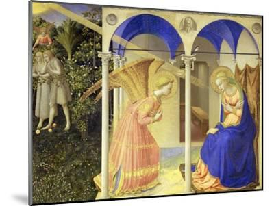 The Annunciation, 1426-1428-Fra Angelico-Mounted Giclee Print