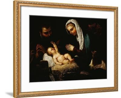 The Holy Family-Jacopo Robusti Tintoretto-Framed Giclee Print
