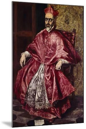 Cardinal Fernando Nino De Guevara, Ca.1601-El Greco-Mounted Giclee Print