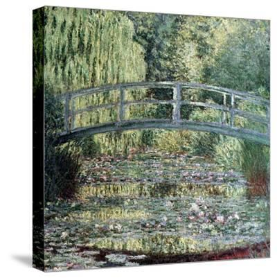The Waterlily Pond: Green Harmony, 1899-Claude Monet-Stretched Canvas Print