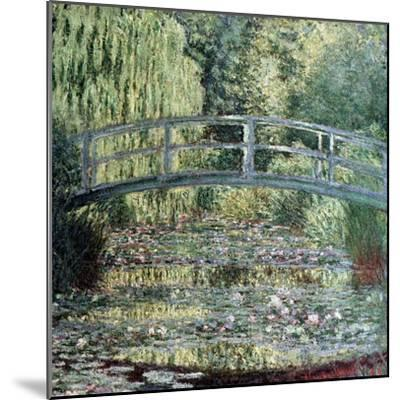 The Waterlily Pond: Green Harmony, 1899-Claude Monet-Mounted Giclee Print