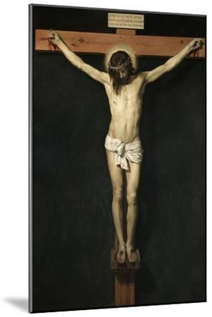 Christ Crucified, Ca. 1632-Diego Velazquez-Mounted Giclee Print