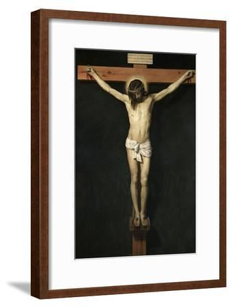 Christ Crucified, Ca. 1632-Diego Velazquez-Framed Giclee Print