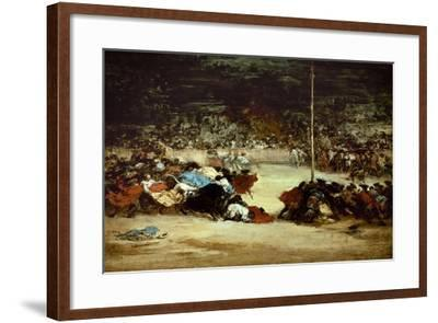 The Bullfight, 18th Century-Suzanne Valadon-Framed Giclee Print