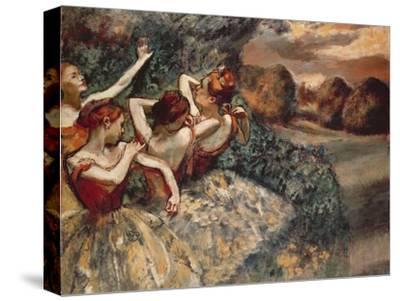 Four Dancers, 1899-Edgar Degas-Stretched Canvas Print
