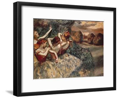 Four Dancers, 1899-Edgar Degas-Framed Premium Giclee Print