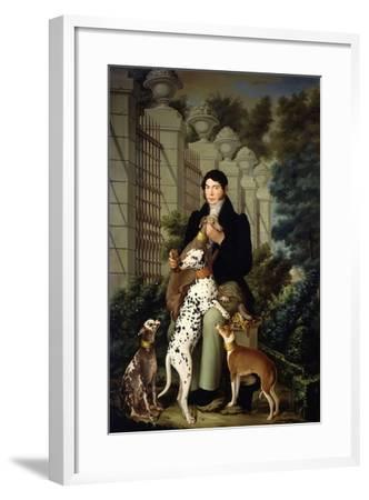 Cuidador De Los Perros De Aranjuez-Francisco Lacoma Y Fontanet-Framed Giclee Print